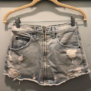 Blue jean Carmar skirt